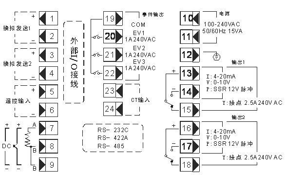 bcd3000a接线图